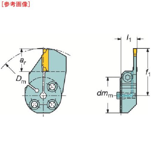 サンドビック サンドビック コロターンSL コロカット1・2用突切り・溝入れブレード 57040L123H23B