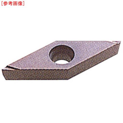 三菱マテリアルツールズ 【10個セット】三菱 P級超硬旋削チップ HTI10 VCGT080204R--2