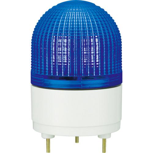 パトライト パトライト KHE型 LED表示灯 Φ100 点滅・流動・ストロボ発光 青 KHE-24-B