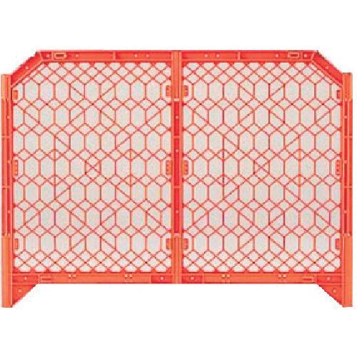DICプラスチック 安全資材 DIC ディックSPフェンス 1500×1200 オレンジ DSPF1500O