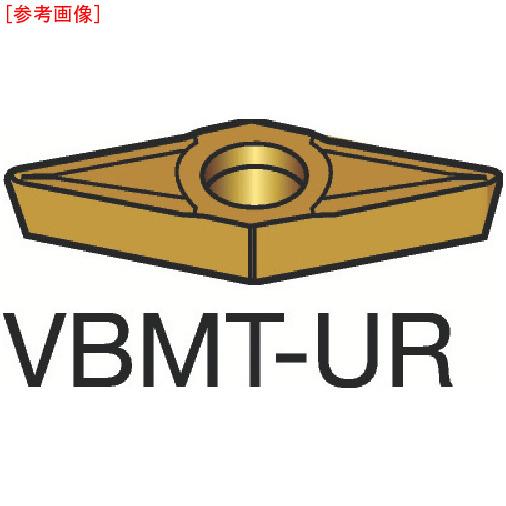 サンドビック 【10個セット】サンドビック コロターン107 旋削用ポジ・チップ H13A VBMT160404UR