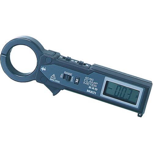 マルチ計測器 マルチ 交流・直流両用クランプ式電流計 MODEL240