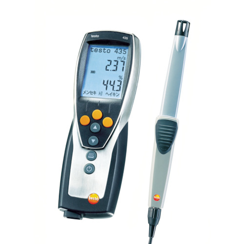 テストー テストー TESTO435-1室内環境計測セット TESTO4351BAS-2