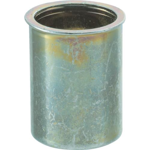 トラスコ中山 TRUSCO クリンプナット薄頭スチール 板厚3.5 M4X0.7 1000個入 TBNF4M35SC