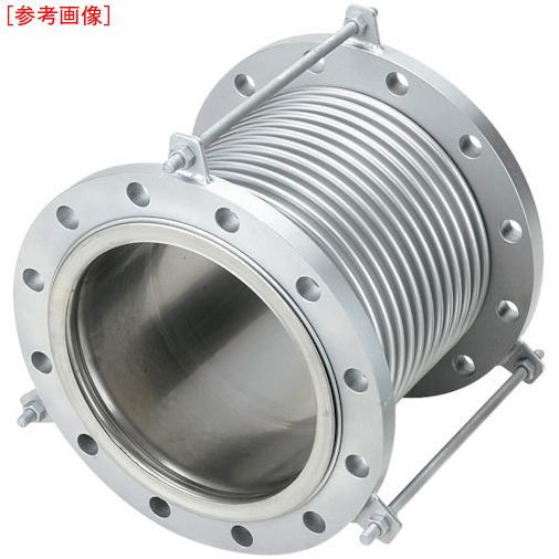 南国フレキ工業 NFK 排気ライン用伸縮管継手 5KフランジSS400 200AX150L NK7300200150