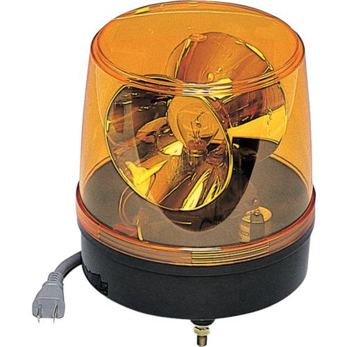 つくし工房 つくし 回転灯 黄色 AC100V 6250Y