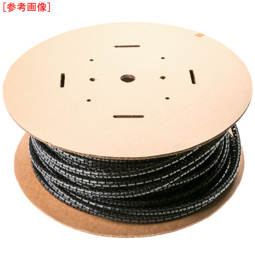 パンドウイットコーポレーション パンドウイット 電線保護材 パンラップ 黒 PW150FL20