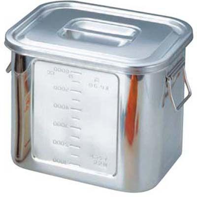 その他 BK 18-8 角型 キッチンポット 目盛付 28型 手付 EBM-0039600