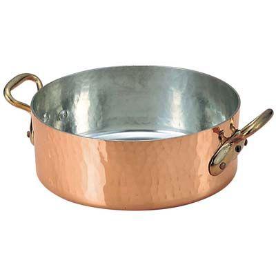 その他 モービル 銅 平鍋(蓋無)2152-40 40 EBM-0152700