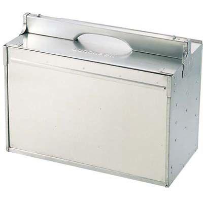 その他 アルミ 出前箱 横型 3段 6ヶ入 EBM-0806800
