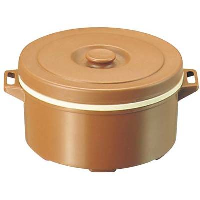 その他 プラスチック 保温食缶 みそ汁用 DF-M1 大 D/B EBM-0822200
