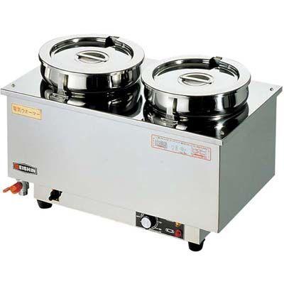 その他 エイシン 18-8 電気ウォーマー ヨコ型 ES-4W EBM-0869600