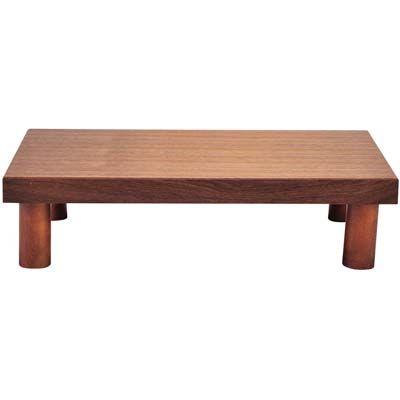その他 木製 システム ディスプレイスタンド ロータイプ ブラウン EBM-1563930