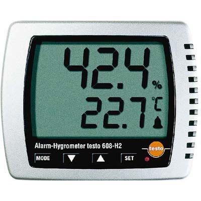 その他 卓上式温湿度計(アラーム付)Testo608-H2 EBM-2871000