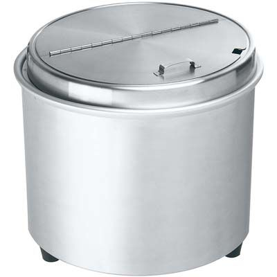 その他 エバーホット スープウォーマー オールステンレス NL-16S(蒸気熱保温方式) EBM-4287500