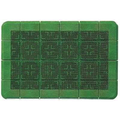 その他 クロスハードマット(玄関マット)#12 緑 900×1200 4903180302925