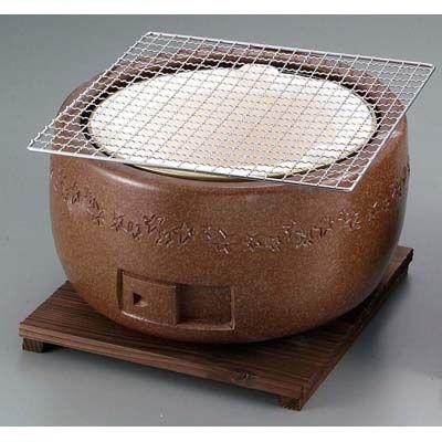 その他 三河コンロ 大型(茶)C-1 EBM-5869000