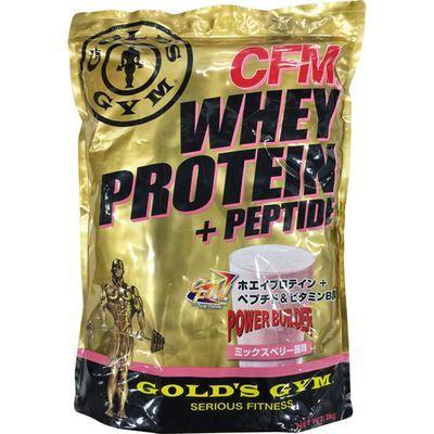 ゴールドジム ゴールドジム ホエイプロテイン ミックスベリー風味 2kg 4534431824226