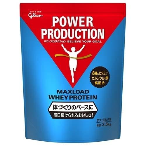 江崎グリコ パワープロダクション マックスロード ホエイプロテイン サワーミルク味 3.5kg 4901005760134