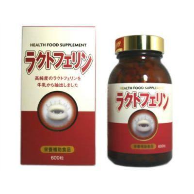 京都栄養化学研究所 ラクトフェリン100 600カプセル 4972785501606【納期目安:2週間】
