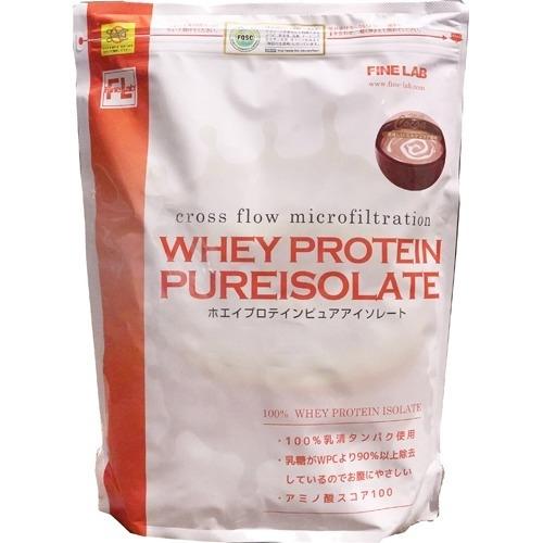 ファインラボ ファインラボ ホエイプロテイン ピュアアイソレート ミルクココア風味 2kg 4560273620078