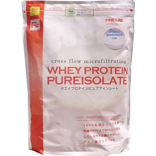 ファインラボ ファインラボ ホエイプロテイン ピュアアイソレート プレーン風味 2kg 4560273620108