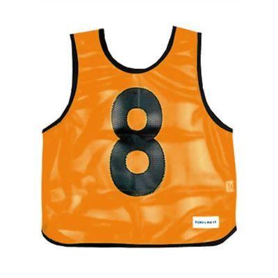 トーエイライト メッシュベストジュニア(1-10) 蛍光オレンジ B-7693V 1枚入 4518891038119【納期目安:2週間】