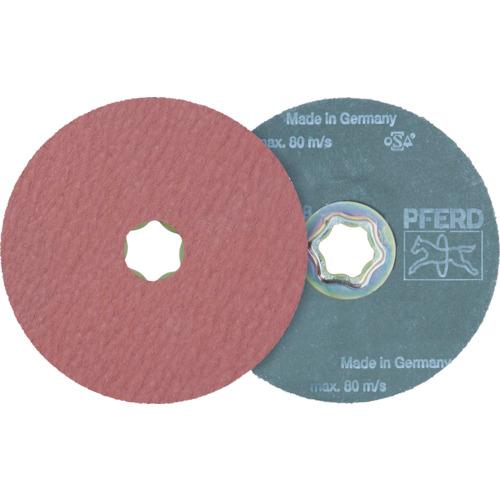 PFERD社 【25個セット】PFERD ディスクペーパー コンビクリック酸化アルミナ COOLタイプ 836149