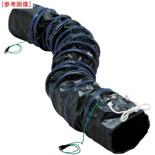トラスコ中山 TRUSCO フレキシブルダクト 帯電防止タイプ アース付 Φ320X長さ5m RFA320