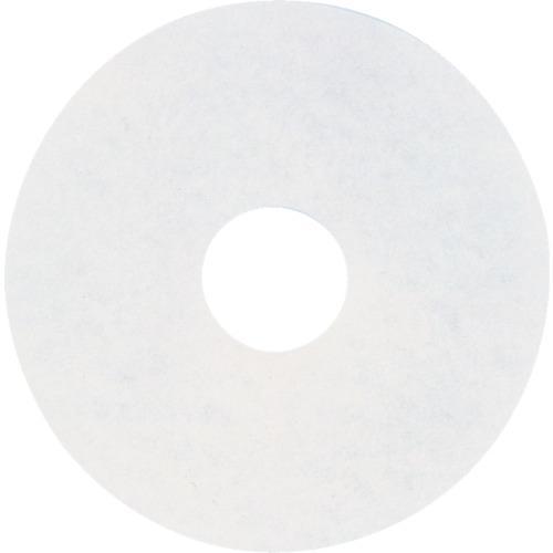 アマノ 【5個セット】アマノ フロアパッド13 白 HEC801700