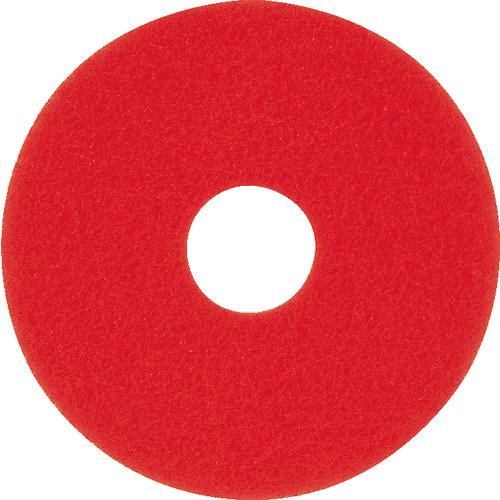 アマノ 【5個セット】アマノ フロアパッド15 赤 HEQ911200