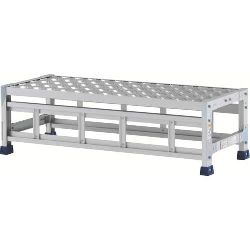 アルインコ アルインコ 作業台(天板縞板タイプ)1段 天板寸法1000×400mm高0.3m CSBC131S