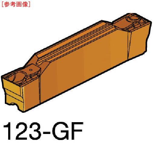 サンドビック 【10個セット】サンドビック コロカット2 突切り・溝入れチップ 1125 N123L208000002GF