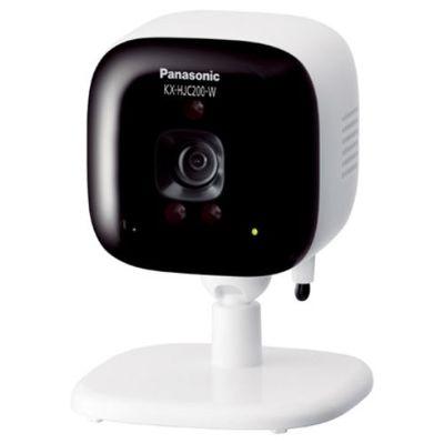 パナソニック ホームネットワークシステム 「スマ@ホーム システム」 屋内カメラ ホワイト KX-HJC200-W【納期目安:約10営業日】