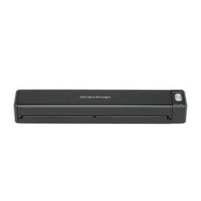 富士通 A4モバイルスキャナ ScanSnap iX100(ブラック・2年保証モデル) FI-IX100A-P FIIX100AP【納期目安:約10営業日】