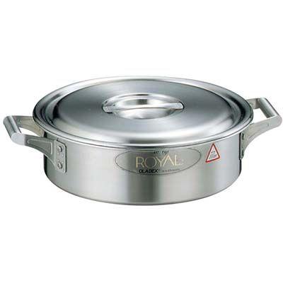 フジノス 18-10 ロイヤル 外輪鍋 XSD-420 42 AST05420