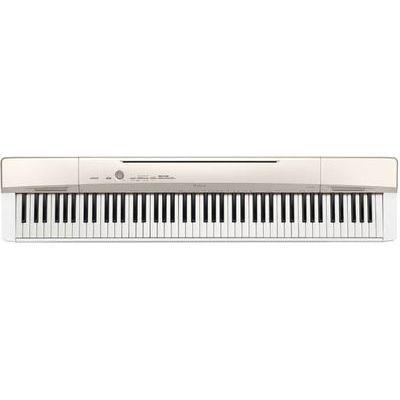 カシオ 電子ピアノ 「Privia(プリヴィア)」 シャンパンゴールド調 PX-160-GD【納期目安:2週間】