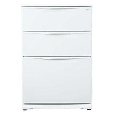 AQUA (W) 冷凍庫(124L・引出式) クールホワイト AQF-12RE【納期目安:約10営業日】