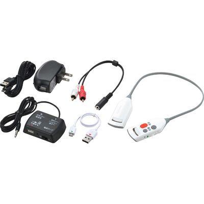 ツインバード工業 ツインバード ワイヤレス耳元スピーカー AV-J343W ホワイト 1台 4975058934316【納期目安:2週間】