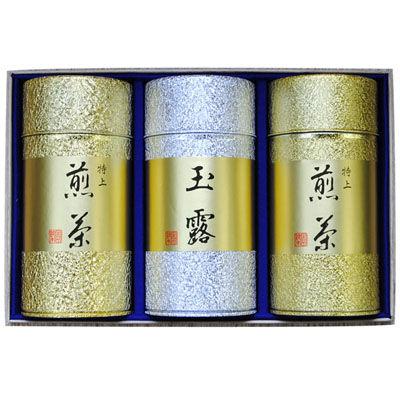 鈴木園 【のし・包装可】特上煎茶・玉露セット(150g×3) B120 SZK-B120