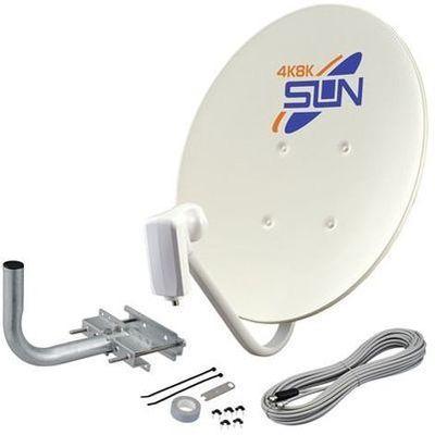 サン電子 4K8K衛星放送対応BS/110度CSアンテナセット45形 CBD-K045-S【納期目安:3週間】