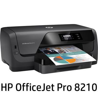 日本HP <OfficeJet Pro>ビジネスプリンター 8210(4色独立インクジェット/LAN/W-LAN/USB2.0/A4) D9L63A#ABJ【納期目安:追って連絡】