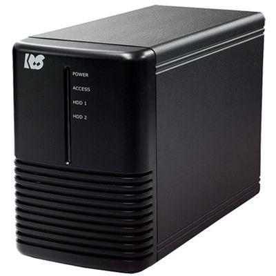 ラトックシステム USB3.1/Gen2 RAIDケース (HDD2台用・10Gbps対応) RS-EC32-U31R