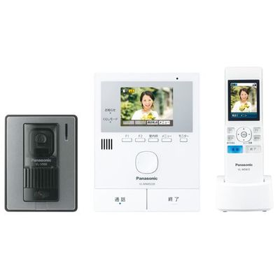 パナソニック ワイヤレスモニター付テレビドアホン 「どこでもドアホン」 VL-SWD220K