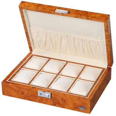 LUHW(ローテンシュラガー) 木製時計8本収納ケース ライトブラウン/薄木目 LU51010RW