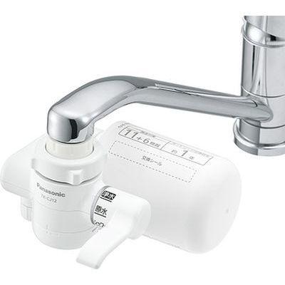 あす楽対応_関東 パナソニック 蛇口直結型浄水器 TK-CJ12-W 休日 ホワイト 全商品オープニング価格