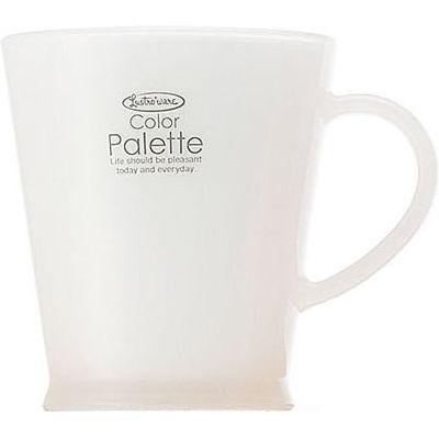 岩崎工業 カラーパレットカップ C425A ホワイト【60個セット】 4901126242588【納期目安:1週間】