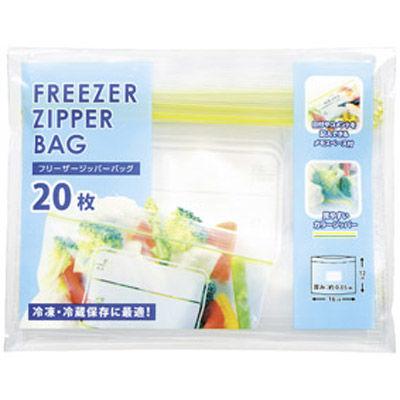 その他 【270個セット】フリーザージッパーバッグ20枚 袋入 MRTS-31017