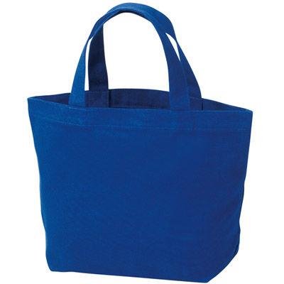 その他 【160個セット】キャンバスバッグS(ブルー) MRTS-60004BL