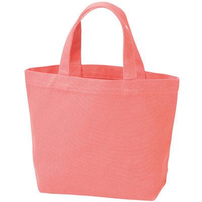 その他 【160個セット】キャンバスバッグS(ピンク) MRTS-60004PK